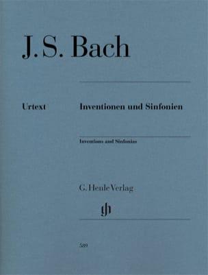 Inventions à 2 et 3 voix BACH Partition Piano - laflutedepan