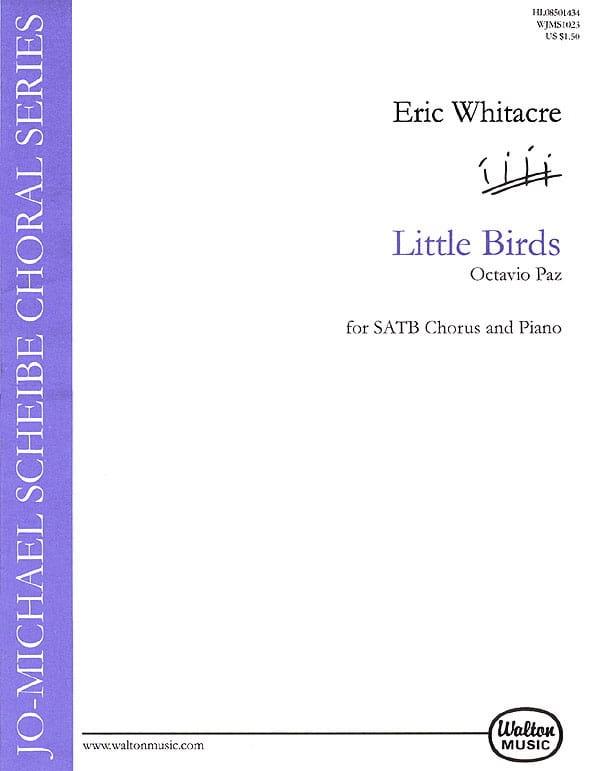 Little Birds - Eric Whitacre - Partition - Chœur - laflutedepan.com
