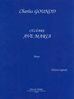 Ave Maria. Piano - GOUNOD - Partition - Piano - laflutedepan.com