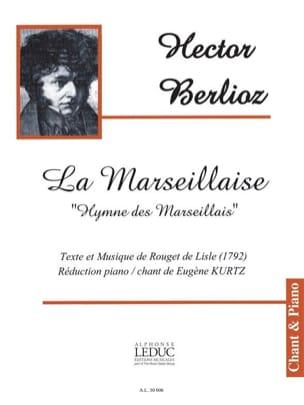 La Marseillaise BERLIOZ Partition Chœur - laflutedepan