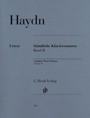 Sonates Complètes Pour Piano Volume 2 HAYDN Partition laflutedepan