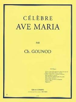 Ave Maria N°1 Ter. Contralto Ou Baryton. GOUNOD Partition laflutedepan