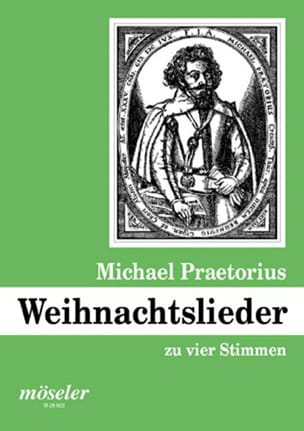 Weihnachtslieder Michael Praetorius Partition Chœur - laflutedepan