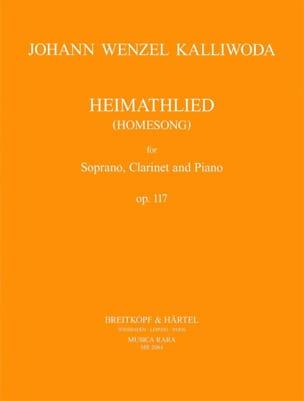 Heimathlied Opus 117 Johann Wenzel Kalliwoda Partition laflutedepan