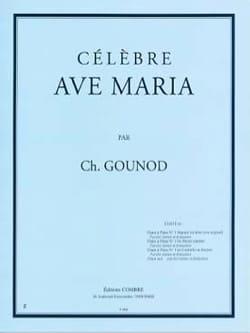 Ave Maria N°1 Bis. Mezzo-Soprano GOUNOD Partition laflutedepan