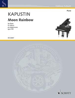 Moon Rainbow Opus 161 - Nikolai Kapustin - laflutedepan.com