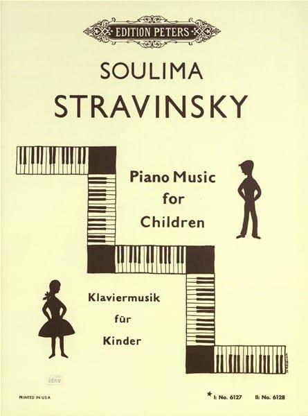 Piano Music For Children Vol 1 - soulima Stravinski - laflutedepan.com