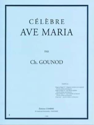 Ave Maria N°1 Bis. Mezzo-Soprano - GOUNOD - laflutedepan.com