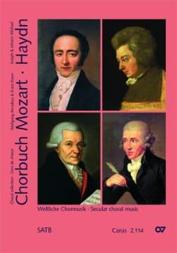 Chorbuch Volume 4. Choeur Mixte MOZART / HAYDN Partition laflutedepan