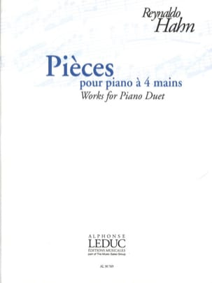 Pièces pour Piano à 4 mains Reynaldo Hahn Partition laflutedepan