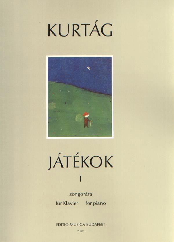 Jatékok Volume 1 - KURTAG - Partition - Piano - laflutedepan.com