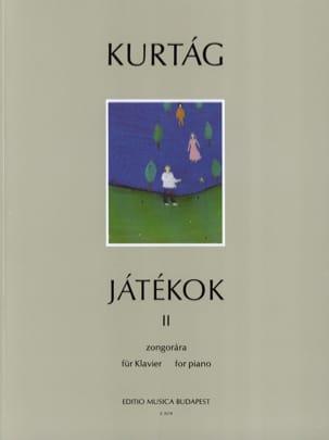 György Kurtag - Jatékok Volume 2 - Partition - di-arezzo.com