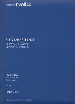 Danses Slaves Opus 46 DVORAK Partition Piano - laflutedepan