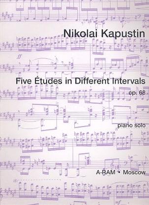 5 Etudes In Different Intervals Opus 68 Nikolai Kapustin laflutedepan