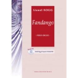 Fandango Lionel Rogg Partition Orgue - laflutedepan