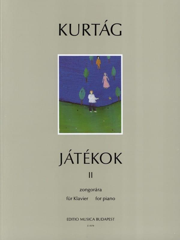 Jatékok Volume 2 - KURTAG - Partition - Piano - laflutedepan.com