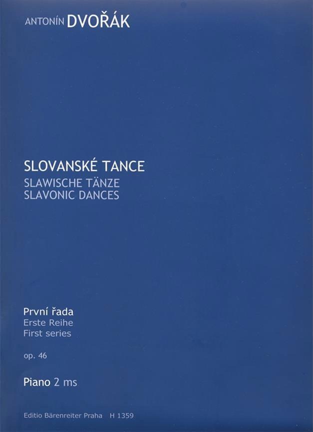 Danses Slaves Opus 46 - DVORAK - Partition - Piano - laflutedepan.com