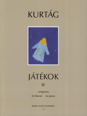György Kurtag - Jatékok Volume 3 - Partition - di-arezzo.com