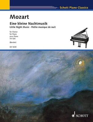 Eine Kleine Nachtmusik K 525 - MOZART - Partition - laflutedepan.com