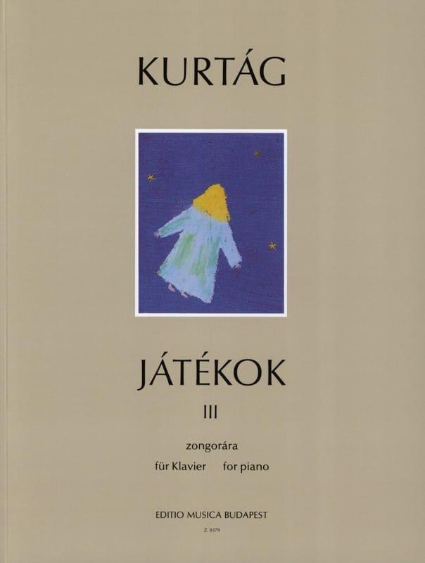 Jatékok Volume 3 - KURTAG - Partition - Piano - laflutedepan.com
