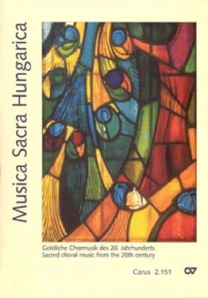 Musica Sacra Hungarica - Partition - Chœur - laflutedepan.com