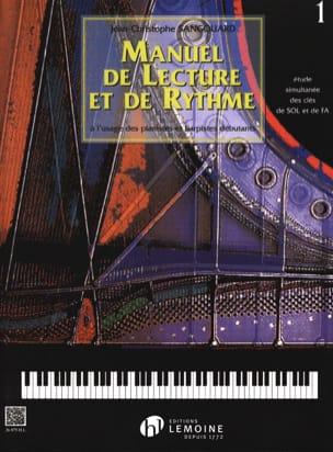 Manuel de Lecture et de Rythme - Volume 1 laflutedepan