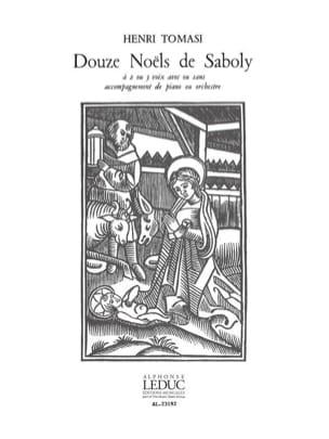 12 Noëls de Saboly - TOMASI - Partition - Chœur - laflutedepan.com