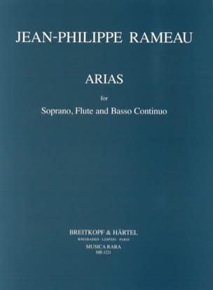 Arias pour soprano, flûte et continuo RAMEAU Partition laflutedepan