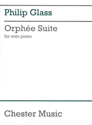 Orphée Suite GLASS Partition Piano - laflutedepan