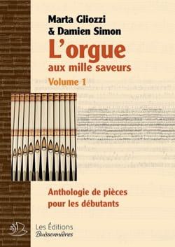L'orgue aux mille saveurs. Volume 1. Relié Partition laflutedepan