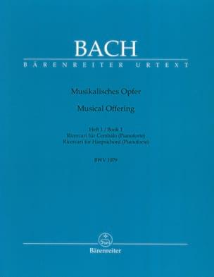 Ricercar Aus Musikalisches Opfer. Heft 1 C-Moll BACH laflutedepan