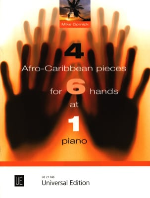 Mike Cornick - 4 Afro Caribbean coins for 6 hands at 1 Piano - Partition - di-arezzo.co.uk