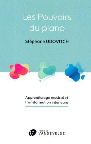 UDOVITCH Stéphane - Les pouvoirs du piano - Livre - di-arezzo.fr