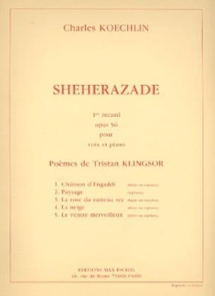 Shéhérazade Recueil N° 1 Opus 56 - Charles Koechlin - laflutedepan.com