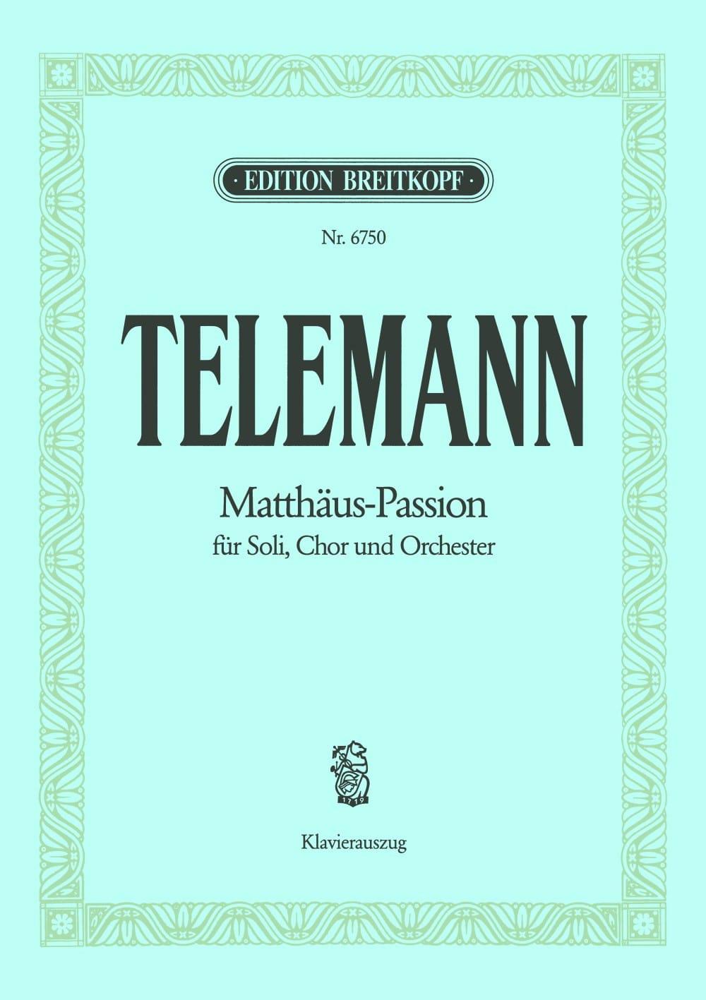 Matthäus-Passion - Passion Selon Saint-Mathieu - laflutedepan.com