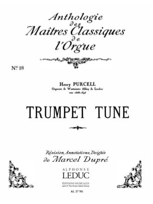 Trumpet Tune PURCELL Partition Orgue - laflutedepan