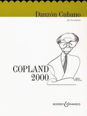 Danzon Cubano. 2 Pianos COPLAND Partition Piano - laflutedepan