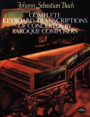 Transcriptions de Concertos Baroques BACH Partition laflutedepan