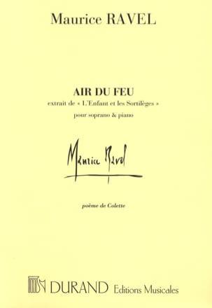 Air Du Feu. L'Enfant et les Sortilèges - RAVEL - laflutedepan.com