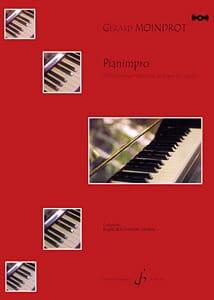 Pianimpro Gérard Moindrot Partition Piano - laflutedepan