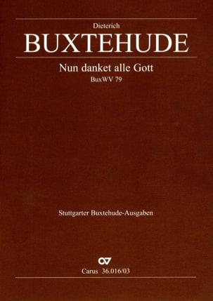 Nun Danket Alle Gott Buxwv 79 - BUXTEHUDE - laflutedepan.com