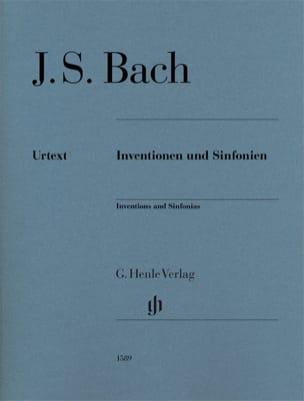 Inventionen und Sinfonien BACH Partition Piano - laflutedepan