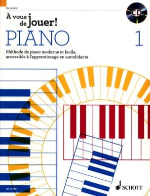 A vous de jouer PIANO ! - Volume 1 Hans-Günter HEUMANN laflutedepan