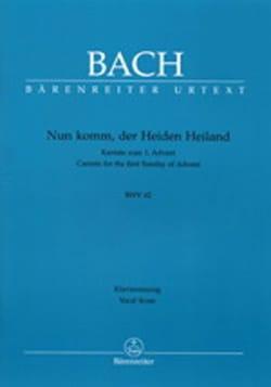 Cantate 61 Nun Komm, Der Heiden Heiland. BACH Partition laflutedepan