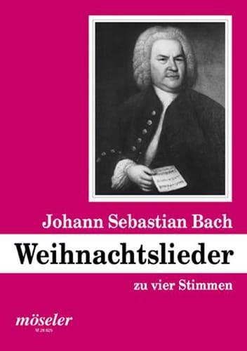 Weihnachtslieder - Johann S Bach - Partition - laflutedepan.com