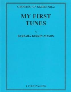 My first Tunes Barbara Kirkby-Mason Partition Piano - laflutedepan