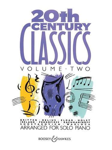 20 Th Century Classics. Volume 2 - Partition - laflutedepan.com