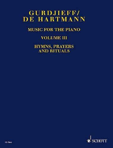 Music For Piano. Volume 3 - GURDJIEFF / HARTMANN - laflutedepan.com