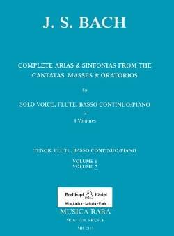 Complete arias from the cantatas, masses, oratorios Volume 7 laflutedepan
