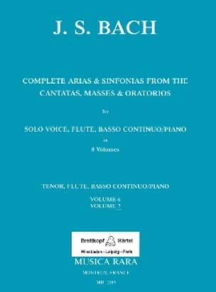 Complete arias from the cantatas, masses, oratorios Volume 7 - laflutedepan.com